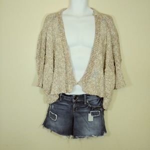 American Rag Open Front Knit Cardigan Boho Sweater